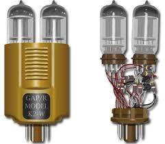 amplificador operacional de válvula