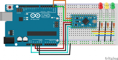 Arduino Pro Mini – Cómo programar con Arduino Uno