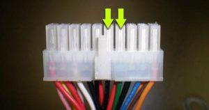 conector de la placa base