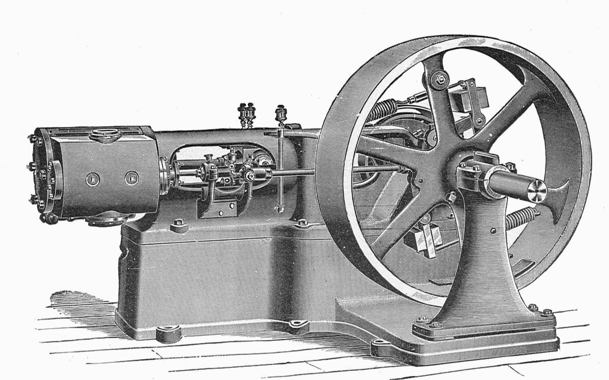 maquina de vapor en cv y cv