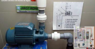 Circuito eléctrico de Bomba de Agua