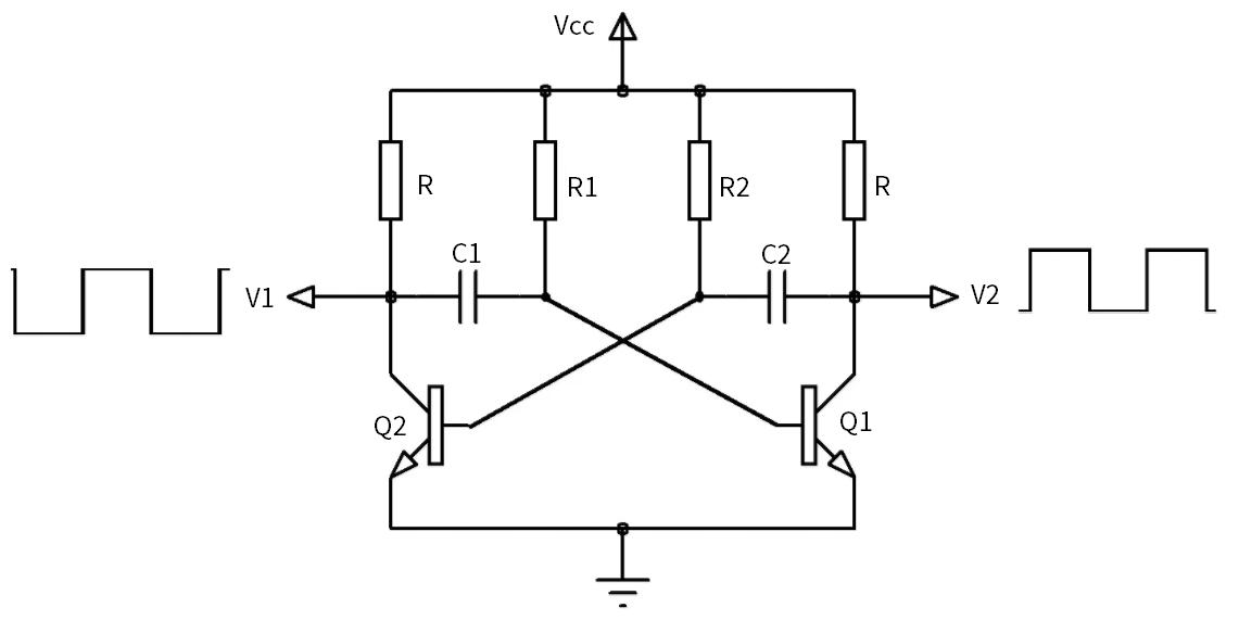 parpadea parpadea con transistores