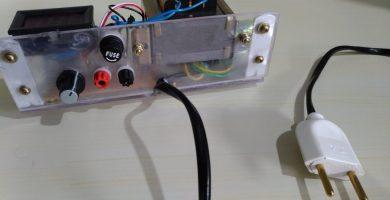 Cómo hacer una fuente variable de 1-30 voltios
