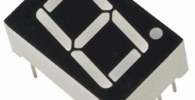 Pantalla LED de 7 segmentos – Tutorial completo