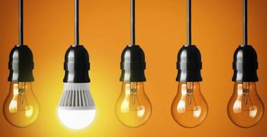 ¿Qué lámparas son más luminosas? Luces LED, fluorescentes o halógenas