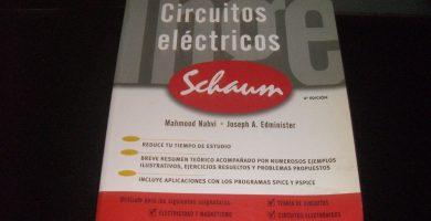 Circuitos Eléctricos Schaum PDF- Teoría y Problemas resueltos Descargas gratis