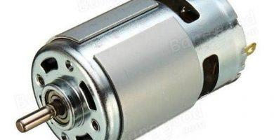 Control de velocidad del motor de CC con transistor