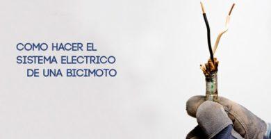 CABLEADO DE LA BICICLETA CON MOTOR ELÉCTRICO