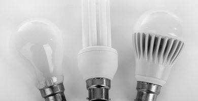 Tipos de bombillas y sus principales características
